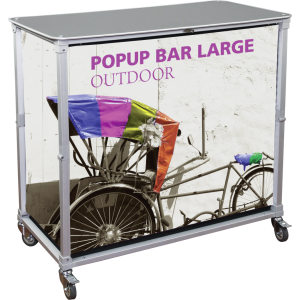 Portable Popup Bar Large